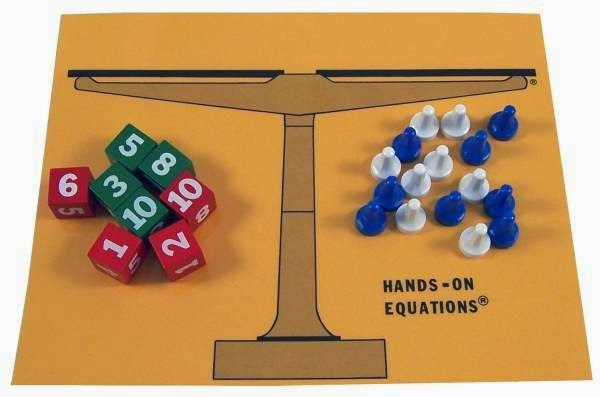Using Manipulatives for Equations {Hands On Equations}