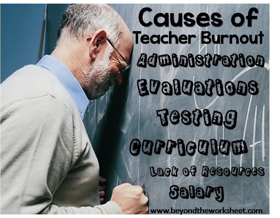Teacher Burn Out – Your Stories