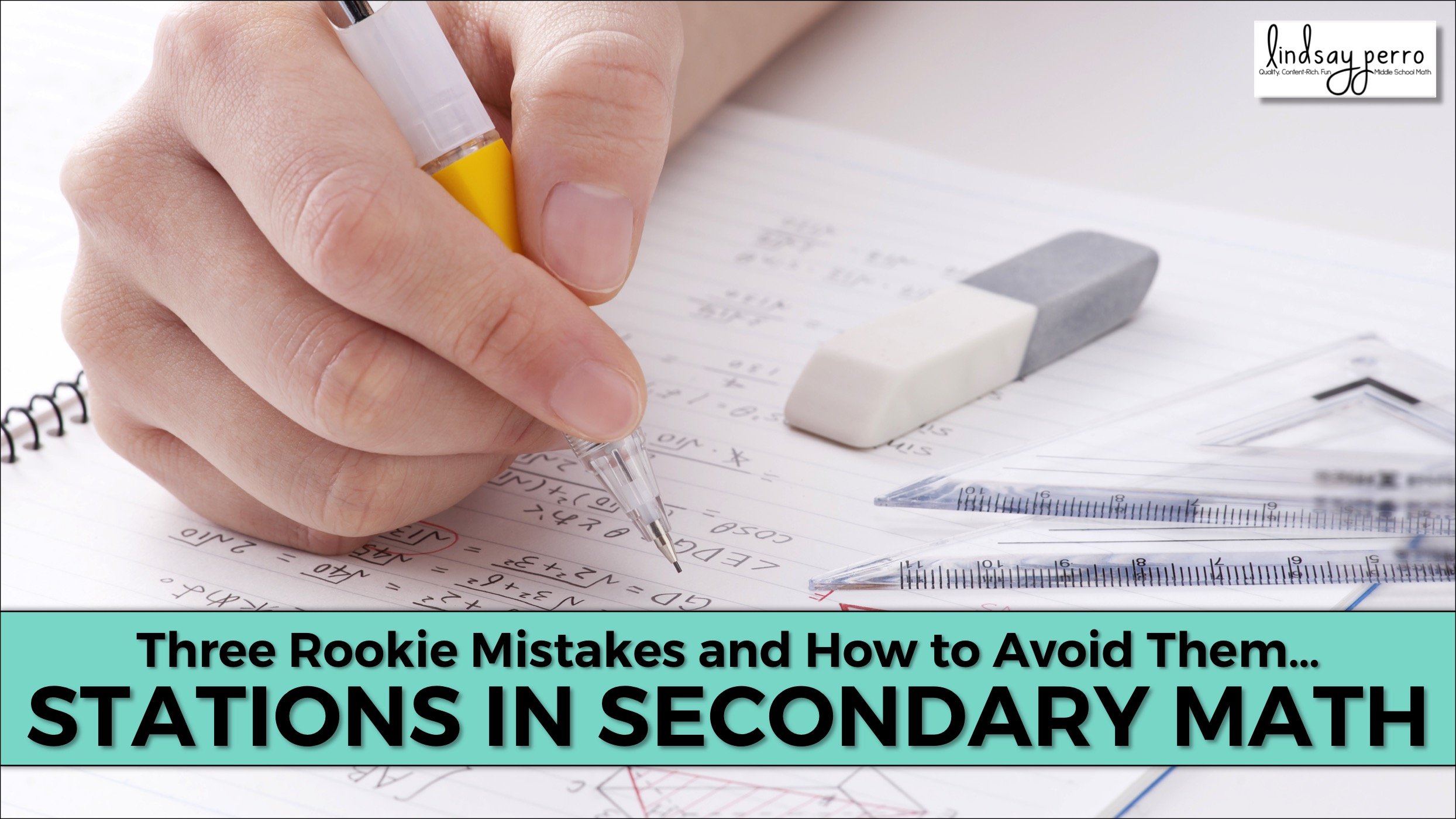 Three Rookie Mistakes – Stations in Secondary Math