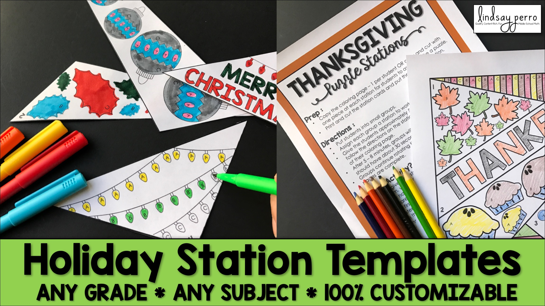 Holiday Station Templates